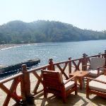 Gunluklu Bay - view from the restaurant