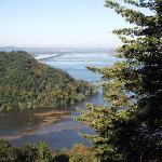 Brady's Bluff - Looking N towards Winona