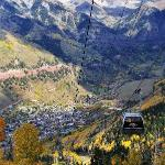 You can get off the gondola right before descending into Telluride and check out the views.