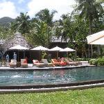 una delle tante piscine