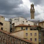 """A view from """"Pontormo"""" toward Palazzo Vecchio."""