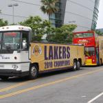 Starline at the Laker Parade!