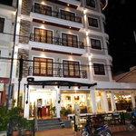 Lao Silk Hotel's building