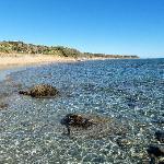 Kaminia Beach looking south