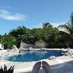 The Incomparable Shell House, Isla Mujeres -- pool deck