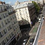 View down the Rue St Jacques