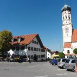 Gasthaus Ruf neben der Kirche
