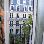 View from room window/balcony
