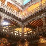Zhiwa Ling lobby interior
