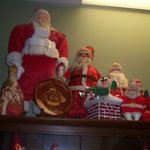 Assorted Santas from all different eras!