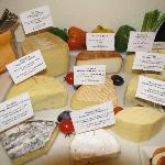 Cheeses were wonderful