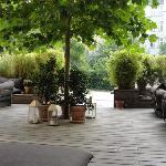 Exterior Courtyard seating Area
