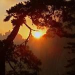 Sunrise over Huangshan