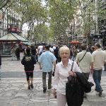 Shopping in Las Ramblas