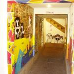 entrada a Hostal Color