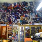 Oh my gosh, local store. I've NEVER seen so many hats!