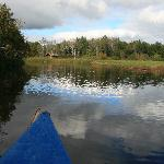 Canoeing in Soomaa