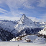 the Matterhorn from Sunnegga paradise (winter)