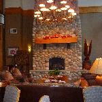 Beautiful Fireplace in the Great Room