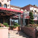 Amaya restaurant outdoor area