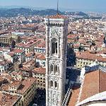 Breathtaking view of Florence/top of Duomo