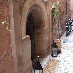 Entrance to Riad
