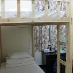 Habitación compartida de 4 camas.