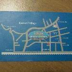 Retro biglietto da visita