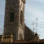 vista da janela do quarto para o Duomo de Firenze... incrível!