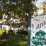 Maples B & B sign