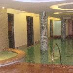 Indoor pool is part of the Second Floor Guest Lounge