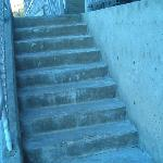 "The concrete steps are OLD - it's not ""new""."