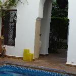 pool & lobby view