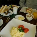 choice of breakfast