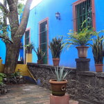 Casa Azul, patio