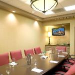 Our Blanchard Boardroom will accomodate up to 10 people.
