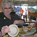 Loved Her Food