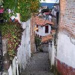 Alleyway to the Posada