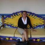 sofa afuera del cuerto