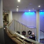 Mezzanine View to Lobby