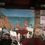 The Breakfast Room mural.
