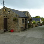 View of the hostel from the farmyard