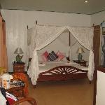 Inside bungalow (sea-view)