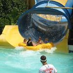 One of several water rides.