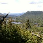 view from nearby trail