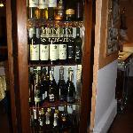 la selection des vins en exposition