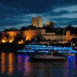 Bodrum Castle at night