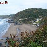 view from the Aberporth to Tresaith walk