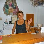 Maria..the wonderful owner!