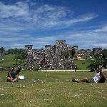 A nice shot of the ruins